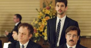 John C Reilly, Ben Whishaw and Colin Farrell in The Lobster.