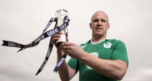 Paul O'Connell captained Ireland to  Six Nations Championshps success. Photograph: Billy Stickland/Inpho.