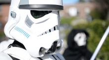 Star Wars fans come out to awaken the force