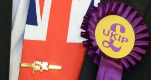 Ukip believes this can be its breakthrough election, but the first-past-the-post system may yet undo the party's electoral ambitions. Photograph: AFP/Getty Images