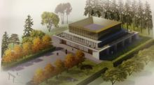 Proposed design for the UCD Confucius Institute: the institutes are designed to promote Chinese language and culture