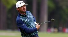 Graeme McDowell hits his third shot on the 15th hole during the first round of the RBC Heritage at Harbour Town Golf Links   in Hilton Head Island, South Carolina. Photograph: Tyler Lecka/Getty Images