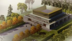 "The proposed design for the ""model"" UCD Confucius Institute for Ireland"