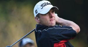 Michael Hoey carded a one under par 71 in the second round at the Shenzhen International. Photograph: Getty