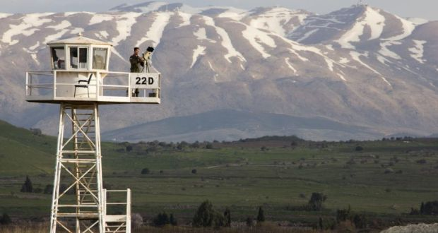 Force Reserve: Ireland's role on the Golan Heights