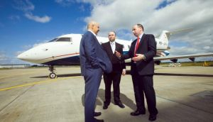 Transaero Engineering Ireland launched in 2012 – pictured at the launch were  executives Alexander Krinichanskiy, Joseph Millar and William McGonagle