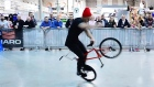 The Irish Cycling Show is taking place at the RDS, Dublin. Now in its 4th year the event showcases stunt team displays, workshops as well as every sort of bike, cycling product and service. Video: Bryan O'Brien
