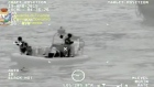 The Italian Guardia di Finanza release video showing their efforts to locate migrants lost at sea. Some 700 are feared to have drowned. Video: Reuters