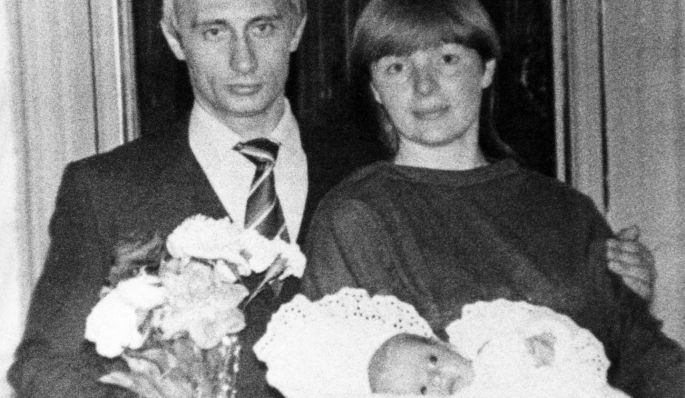 Archive Photographs Of A Young Vladimir Putin