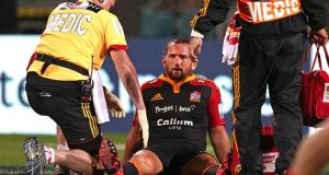 All Black Aaron Cruden will miss the World Cup after injuring his knee. Photograph: Getty