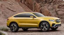 Mercedes shows low-lying GLC coupe in Shanghai