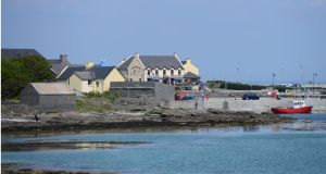 Inis Mór, the largest of the Aran Islands. The airlink involves subsidising islanders' use of three daily return flights to and from Inis Mór on weekdays and two return flights at weekends