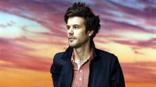Passion Pit's Michael Angelakos is excited about the future after a tough few years