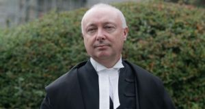 Mr Justice Tony Hunt found there was no blanket right to have a solicitor present during questioning. Photograph: Collins Courts