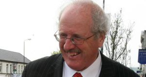 "Jim Shannon of the DUP on the election trail: he has a particular interest in ""protecting Christians"" who face ""persecution across the world"". Photograph: Paul Faith/PA"