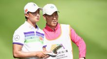 Former construction worker Wen - Yi Huang came tied for fourth in the Shenzhen International. Photograph: Getty