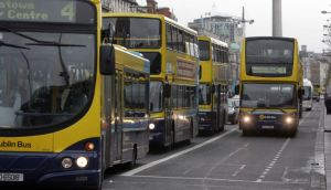 Dublin Bus and Bus Éireann are planning strikes next month. Photograph: Cyril Byrne