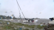 Super storm lashes Australian east coast for third day