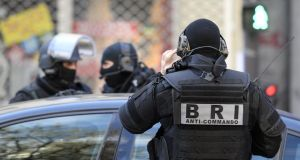 French police are holding a heavily armed man they suspected of planning an imminent armed attack on one or two churches in France. Photograph:  Alain Jocard/AFP/Getty Images