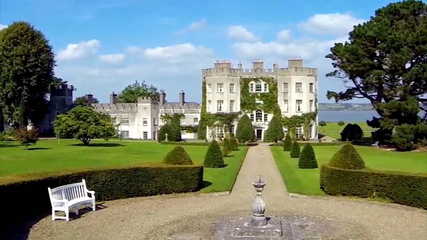 Glin Castle - County Limerick, Ireland - The ancestral home of