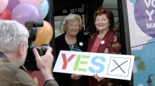 Yes Equality campaign takes to the road