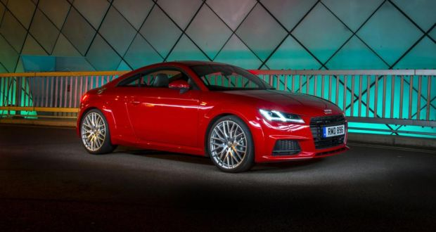 Audi TT RS Promises More Power And Performance - Barrier audi