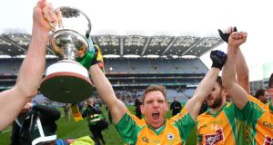 Ciaran McGrath sustained a cruciate ligament injury 15 minutes into Corofin's All-Ireland club football final victory this year.