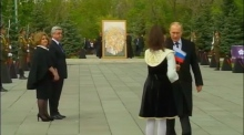 Foreign dignitaries attend Armenian memorial ceremony