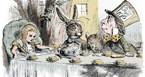 lewis carroll alice in wonderland essay Home free articles political themes in the stories alice in wonderland by lewis carroll political themes in the stories alice in wonderland by lewis carroll.