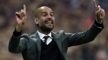 Bayern Munich's Pep Guardiola will face his old club Barcelona in the Champions League semi final. Photo: Guen Shiffmann/Getty Images