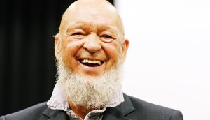 Michael Eavis: 'We try and hang on to the working-class people. It's really important to me.' Photograph: Dave J Hogan/Getty Images