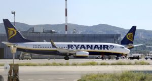 Ryanair 'not liable for the passenger's care and assistance'. Photograph: Anne-Christine Poujoulat/AFP/Getty Images