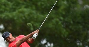 Tiger Woods will make his PGA Tour return in the Players Championship on May 7th. Photograph: Afp