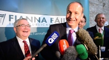 Fianna Fáil party faithful gather in Dublin