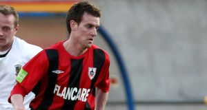 Mark Salmon scored twice as Longford Town saw off Drogheda United 3-0 away from home. Photograph: Inpho