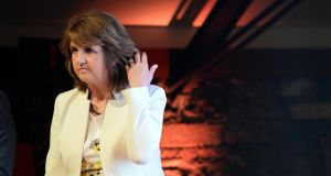 More information may be needed about the details of people who bought shares in Siteserv in the weeks before it was sold in March 2012, Tánaiste Joan Burton has said. Photograph: Eric Luke / The Irish Times.
