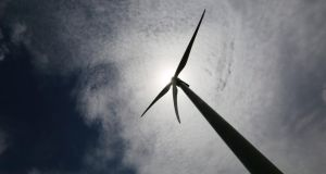Element Power has lodged a planning application for its Kildare-Meath-based Maighne Wind Farm with the Strategic Infrastructure division of An Bord Pleanála. File photograph: Carlos Jasso/Reuters
