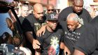 An ESPN report revisited Floyd Mayweather's history of domestic abuse. Photograph: Getty