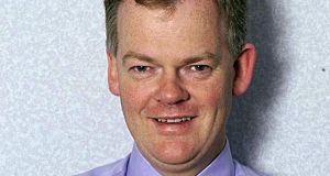 File photograph of Prof Aidan Halligan. The noted UK-based Irish doctor has died at the age of 57. File photograph: NHS