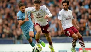 It's barely a year since 19-year-old Jack Grealish was out on loan at Notts County, and Ireland under-21 manager Noel King says he is delighted to see the teenager make the most of his opportunities at Aston Villa. Photograph: Martin Rickett/PA Wire.