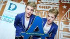 Jedward at the 'Stay Safe on Facebook' launch at Facebook Dublin. The Diana Awards celebrate young individuals who have actively taken a stand to online and offline bullying.