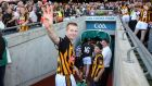 "Henry Shefflin celebrating another Kilkenny All-Ireland victory. ""At the moment it is still a bit of a novelty, that bit of freedom. I have been busy with my family life, my work."" Photograph: Cathal Noonan/inpho"