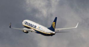 A Ryanair statement said: 'The airline expects these funds to be repaid shortly, and has taken steps to ensure that this type of transfer cannot recur.' Photograph: Chris Ratcliffe/Bloomberg