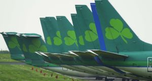 Aer Lingus announces revenues of €280 million, a 7.9 per cent increase on 2014's first quarter figure of €259.4 million. Picture: Frank Miller, Irish Times