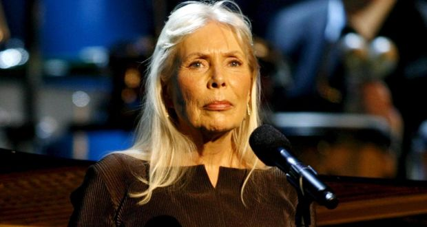c6668b5be70 Musician Joni Mitchell performs at the Thelonious Monk Institute of Jazz  International Trumpet Competition and Herbie