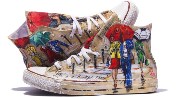 Art and sole  Irish artists convert their Converse eb0f73a46