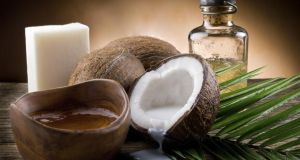 'Coconut oil is a great moisturiser and is nice in hair.' Photograph: Thinkstock