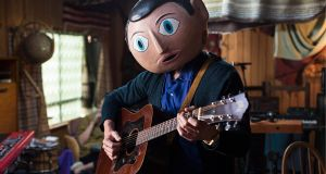 Lenny Abrahamson's Frank, starring Michael Fassbender as an eccentric musician who wears a huge false head at all times. The movie has picked up nine Ifta nominations