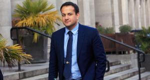 "Minister for Health Leo Varadkar. ""I won't be allowing my own background or my sexual orientation to dictate the decisions I make,"" he told Miriam O'Callaghan in January. Photograph: Gareth Chaney/Collins"