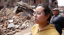 Nepal earthquake survivor tells her story